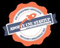logo entreprise labélisée adopte une start up