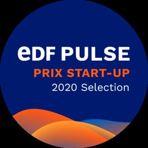 badge EDF Pulse Start-up Awards 2020 Selection