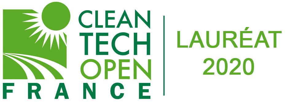logo Clean Tech Open France Lauréat 2020