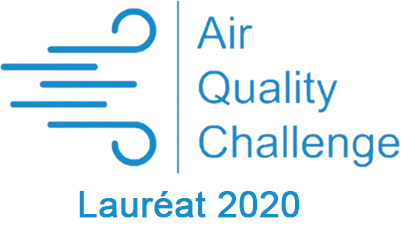 logo Air quality Challenge Lauréat 2020
