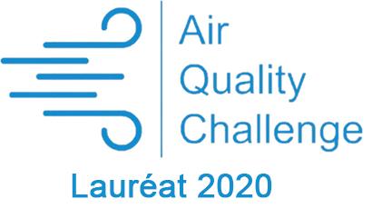 logo Air quality Challenge Lauréat 2020