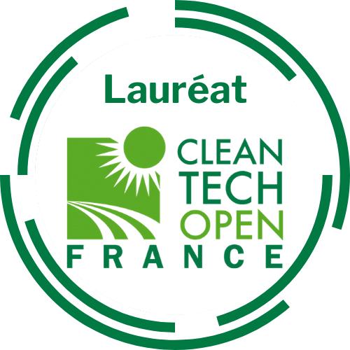 Label Lauréat CLEAN TECH OPEN France